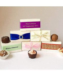 2 Choc Truffles Favour Boxes from £1.75