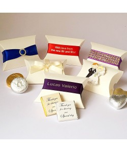 Pillow Favour Gift Boxes from £1.25