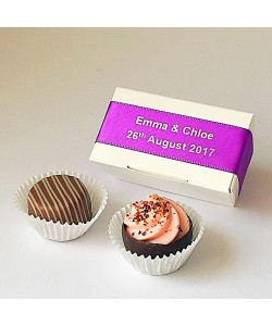 2 Choc Personalised - Purple