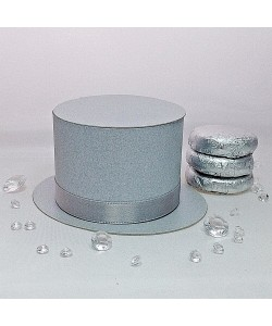 Top Hat - Silver Grey