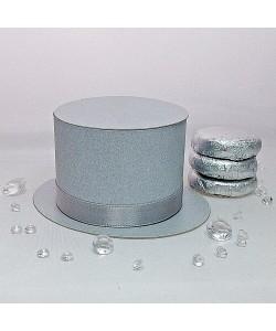 Top Hat - Silver Grey