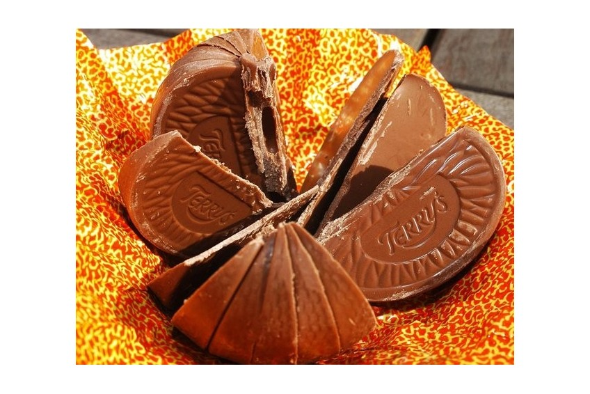 The shrinking of the Terrys Chocolate Orange!