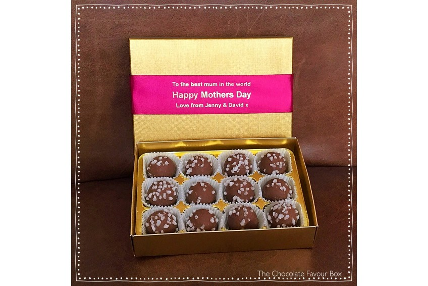 Mother's Day Milk Chocolate Prosecco Truffles