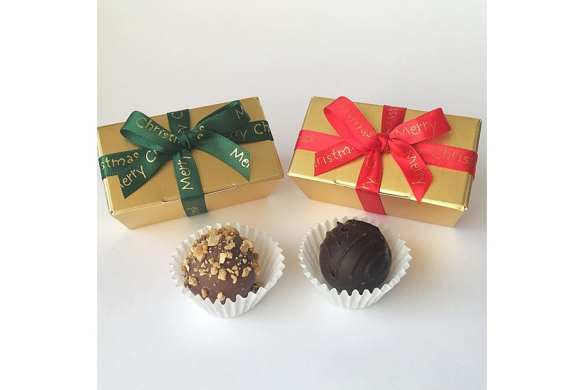 Chocolate filled Christmas Favours