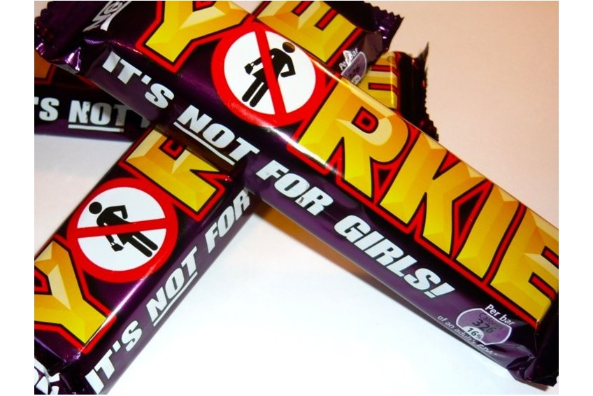 Yorkie - Sexist Chocolate Bar?